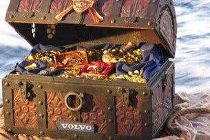 """Volvo откри най-добрия """"пират"""" в """"Гонитбата"""""""