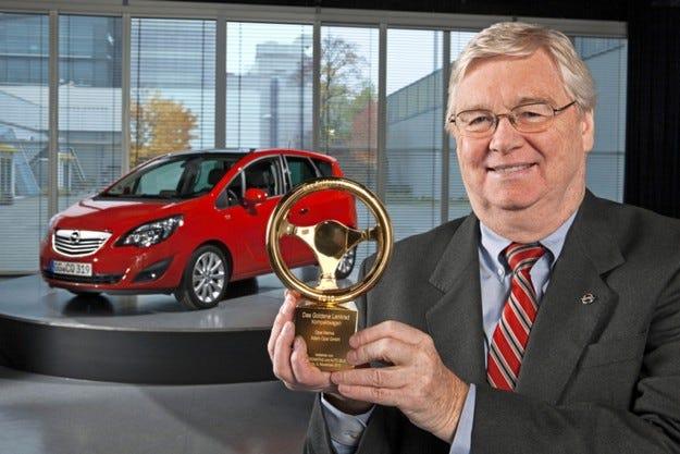 Opel Meriva спечели наградата Златен волан 2010