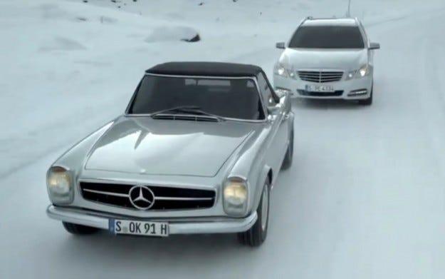 Видео: Как е направена последната реклама на Mercedes
