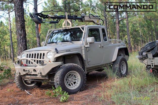 За Jeep Wrangler Hendrick Commando няма прегради
