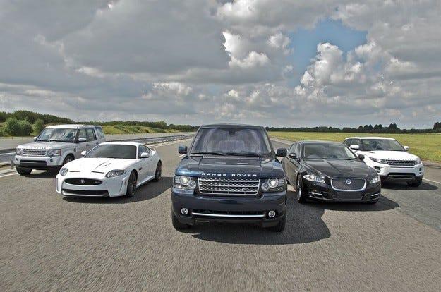 Jaguar Land Rover излезе начело в Обединеното кралство