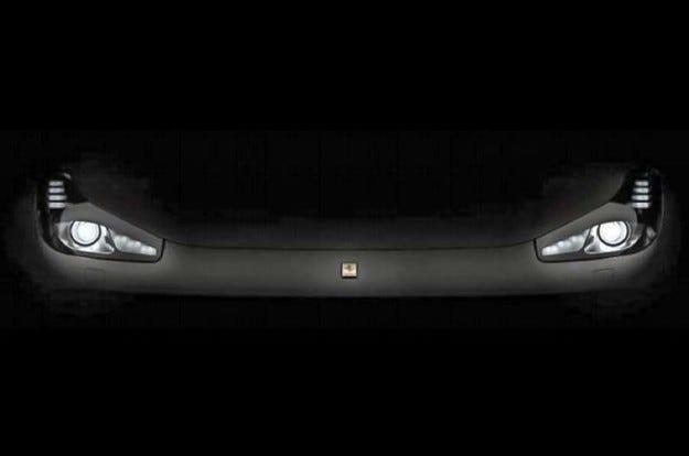 Ferrari показа светлините на обновения суперавтомобил FF