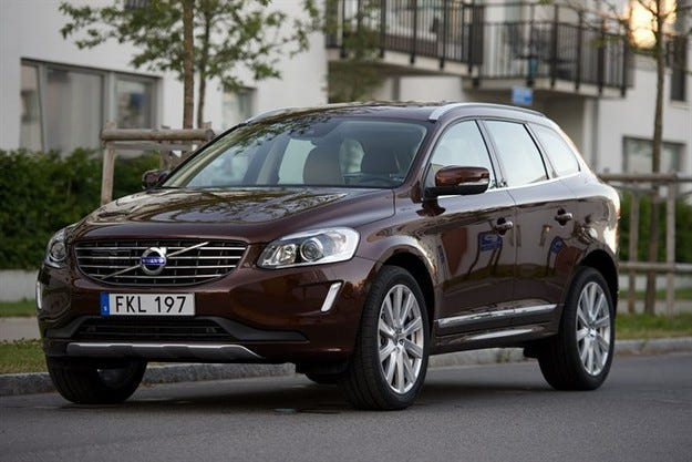Volvo XC60 е най-добре продаваният SUV в Европа
