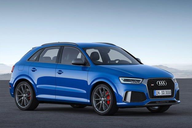 Audi пуска свръхмощна версия на кросоувъра RS Q3