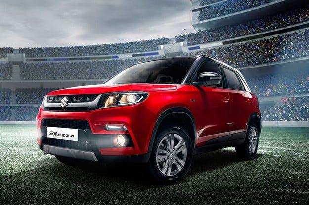 Suzuki Vitara Brezza: Малък формат на Vitara за Индия