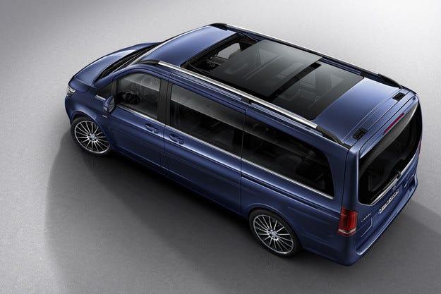 Mercedes представи най-скъпата версия на минивана V-класа