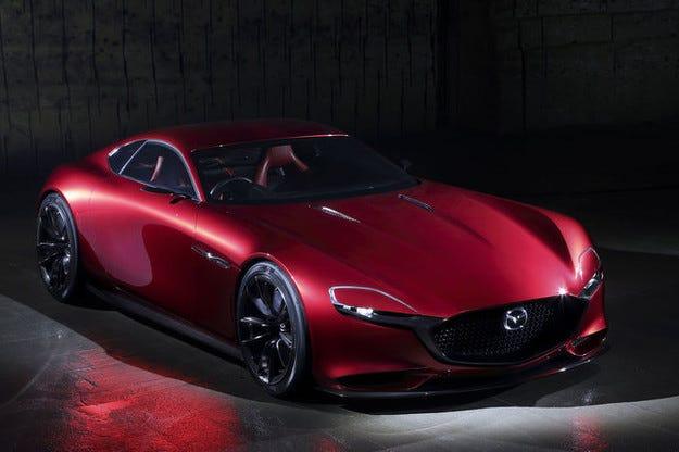 Mazda RX-Vision Concept: С 450 к.с. и с турбо Wankel