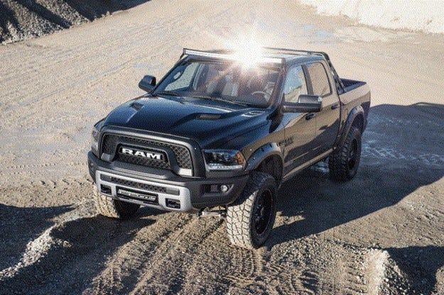 Dodge Ram 1500 Rebel от Geiger: Офроудърът става по-висок