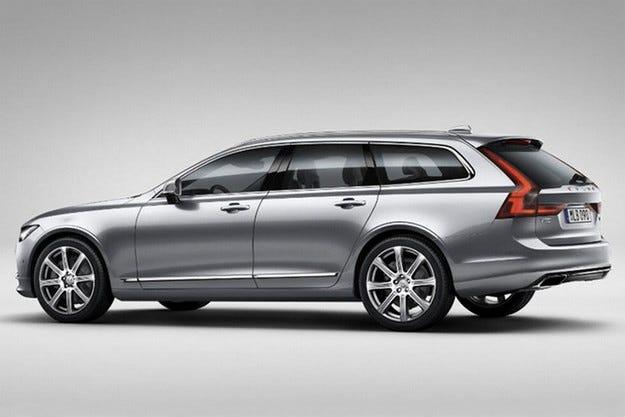 Разсекретиха новото комби Volvo V90 преди премиерата му