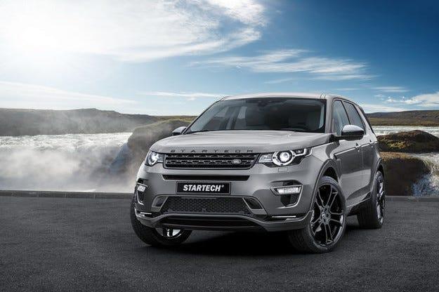 Startech настройва Land Rover Discovery Sport