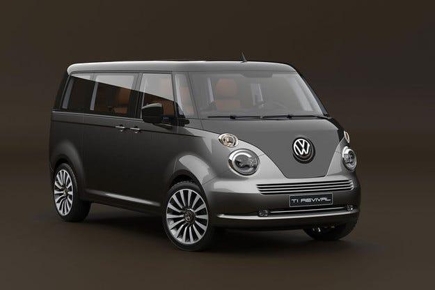 Давид Обендорфер проектира Volkswagen T1 Revival
