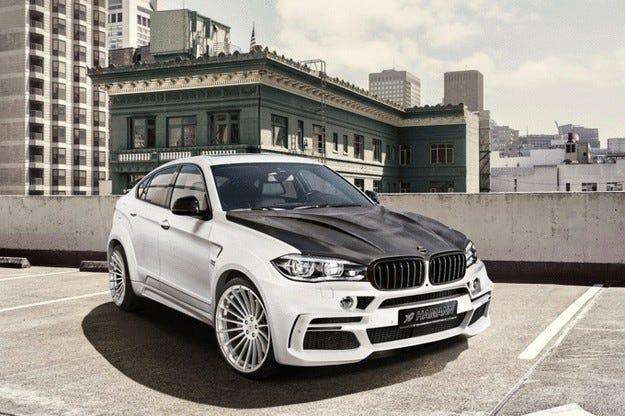 BMW X6 M50d от Hamann: Реконструкция със звук на V8