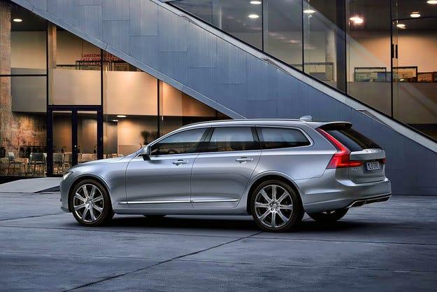 Шведската компания Volvo представи най-голямото си комби