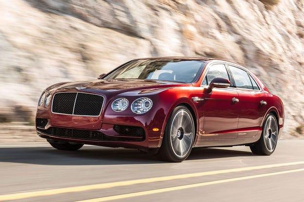 Bentley Flying Spur V8 S прави британски десант в Женева