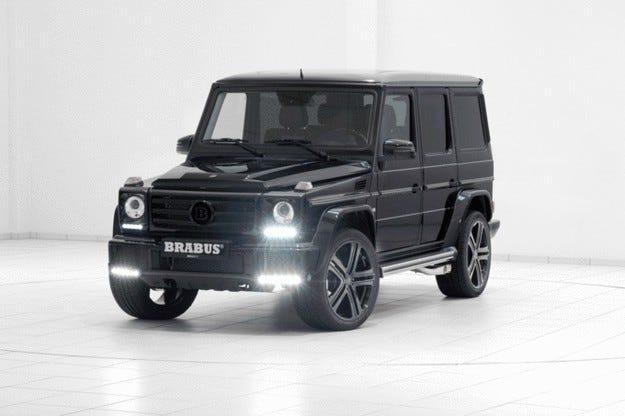 Brabus промени Mercedes G 500: Още мощност чрез Plug-and-Play