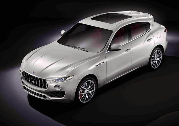 Maserati Levante 2016: Първи снимки и факти от новия SUV