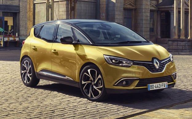 Новият миниван Renault Scenic е станал много секси