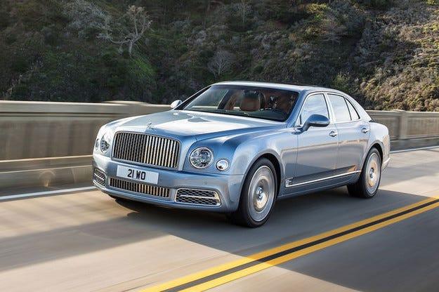 В Женева гастролира луксозният лайнер Bentley Mulsanne
