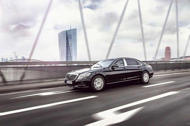 Флагманът Mercedes-Maybach S600 получи бронирана версия
