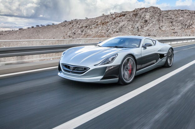 Хърватската компания Rimac предлага сериен суперавтомобил