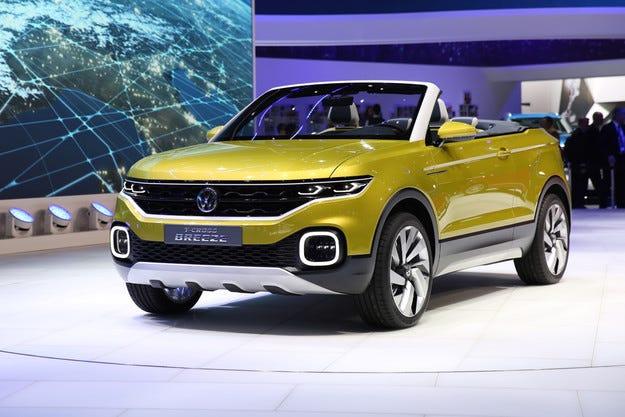 Новият кросоувър на Volkswagen се оказа кабриолет