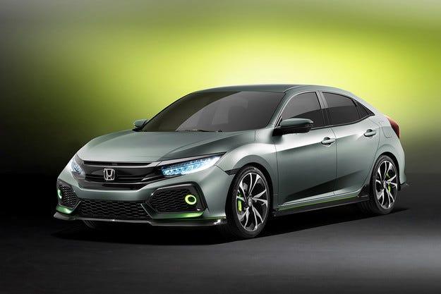 Honda показа как ще изглежда новият хечбек Civic