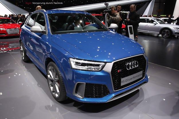 Добавиха още мощност на кросоувъра Audi RS Q3