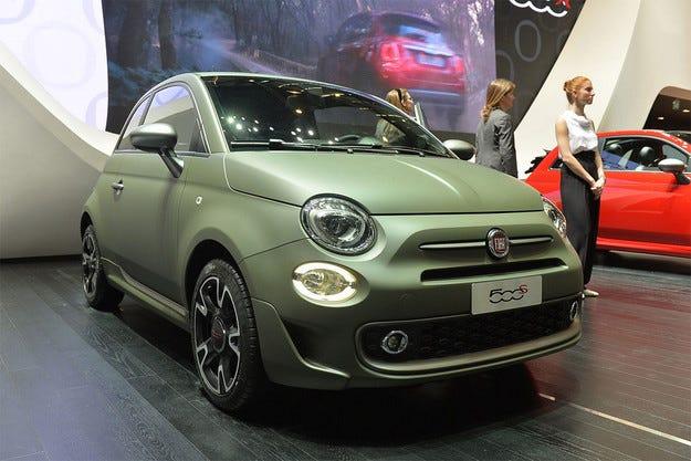 Италианският бестселър Fiat 500 получи спортна версия
