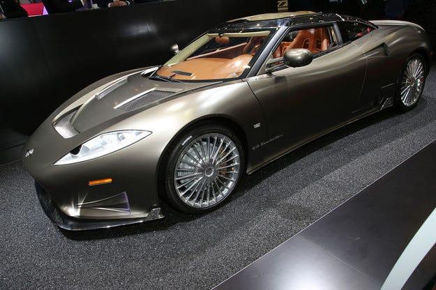 Spyker Preliator в Женева: Двигателят V8 съживи спортиста