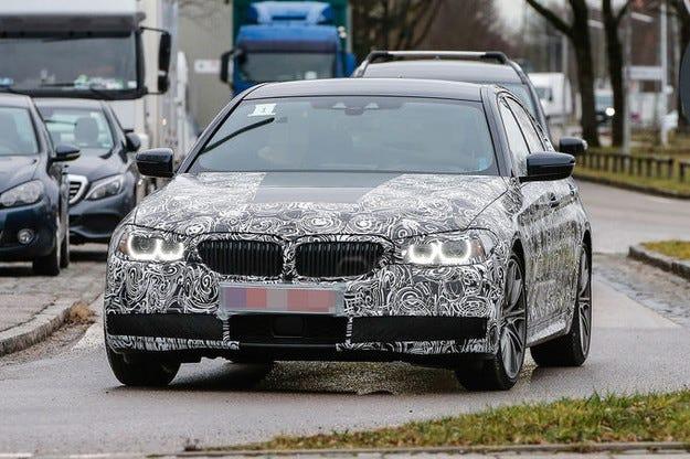 BMW Серия 5, прототип G30 (2017) дори и като комби