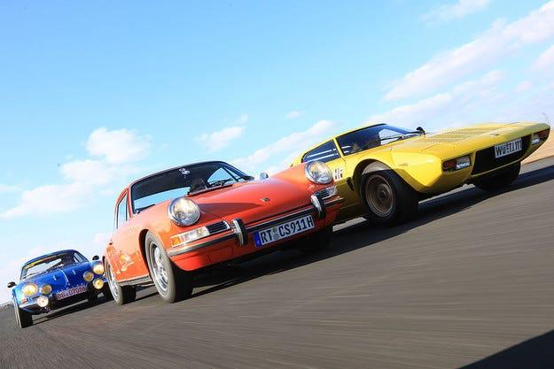 Lancia Stratos, Renault Alpine A 110 и Porsche 911 S: Трима рали герои
