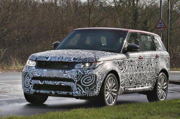 Range Rover Sport SVR 2017 получава по-голяма мощност