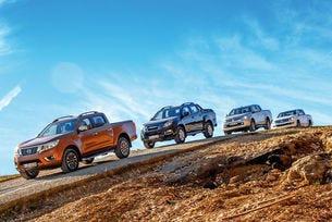 Isuzu D-Max, Mitsubishi L200, Nissan Navara, VW Amarok: Пикапи за приключения и свобода