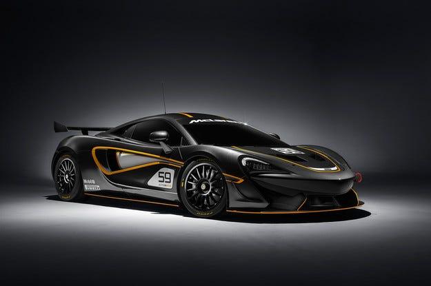 McLaren 570S Coupe получава пистови версии GT4 и Sprint