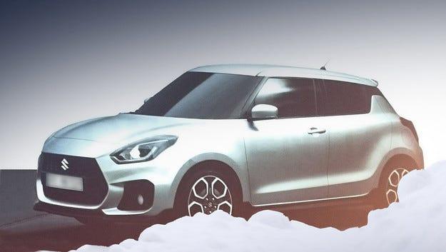 Първи изображения в мрежата на новия Suzuki Swift