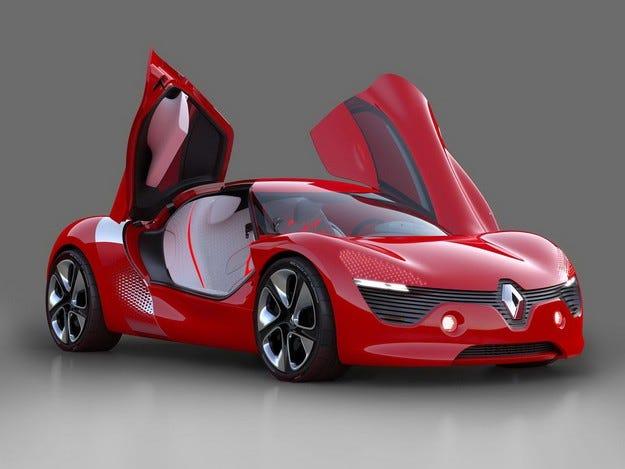 Renault ще покаже в Париж нов концепт на спортен модел
