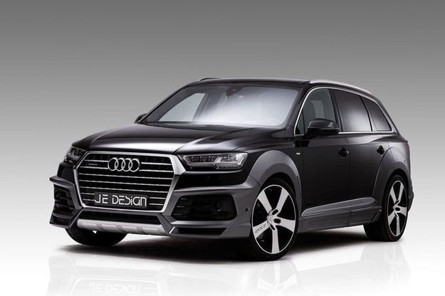 JE Design Audi Q7 Widebody: Силни форми и дизел с 522 к.с.
