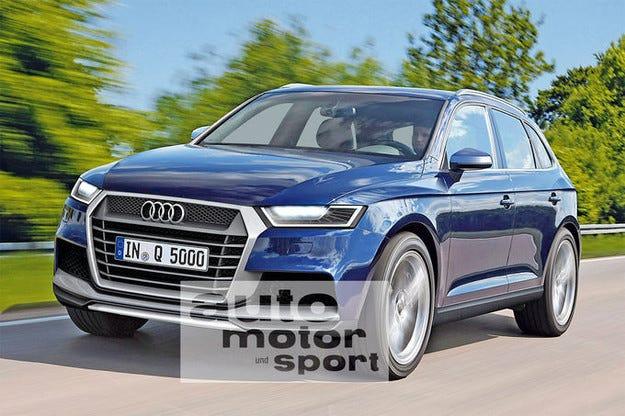 Новото Audi Q5 (2016): Тайният прототип на SUV