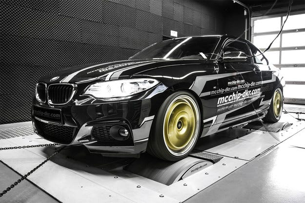 BMW Серия 2 получава два нови тунинг пакета