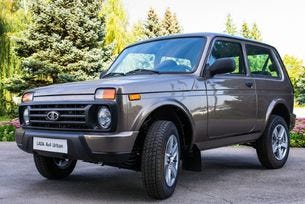 АвтоВАЗ започва производството на Lada 4x4 Urban