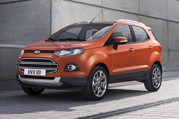 Ford ще произвежда кросоувъра EcoSport в Румъния
