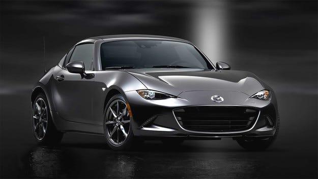 Роудстърът Mazda MX-5 получи твърд покрив (видео)