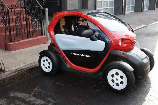 Renault Twizy ще бъдe произвеждан под марката Nissan