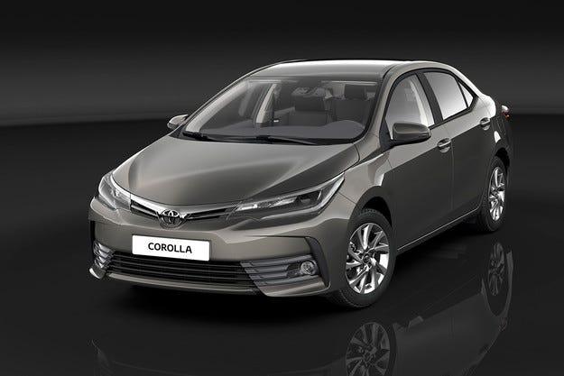 Toyota Corolla 50 години