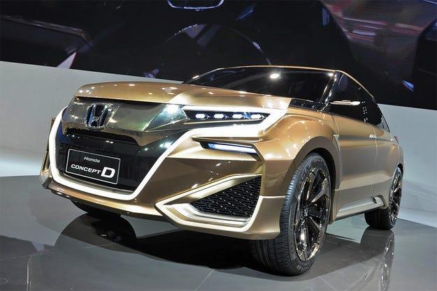 Новият кросоувър на Honda ще получи името UR-V