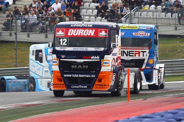Избраха Goodyear за партньор на състезание с камиони