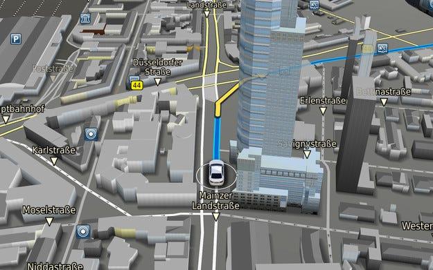 С Навигация 3.0 и Bosch пътувате през 3D пейзажи