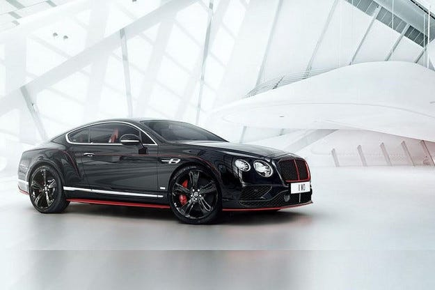 Bentley Continental GT Speed: Black Speed версията е вече тук