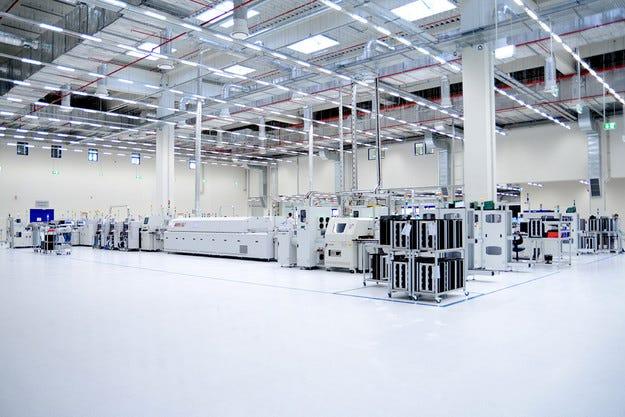 Заводът на BHTC в Божурище: Късчета от бъдещето