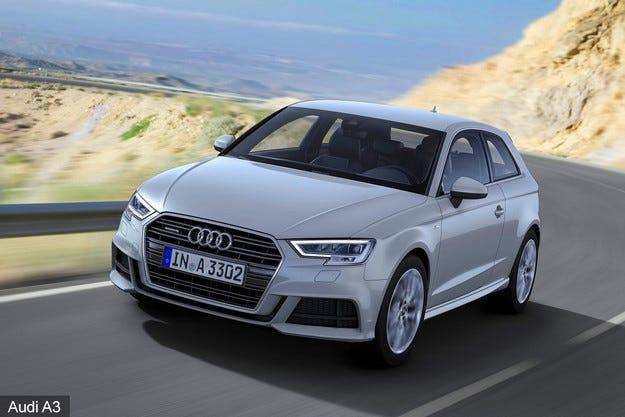 Немската компания Audi обнови фамилията A3
